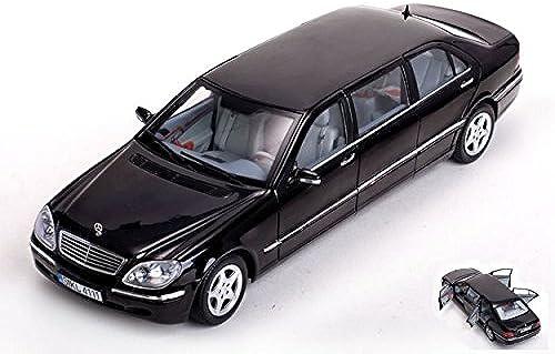 SUNSTAR SS4111 MERCEDES S CLASS PULLMAN 1998 schwarz 1 18 MODELLINO DIE CAST MODEL