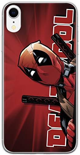 ERT GROUP Original Marvel Deadpool TPU Case for iPhone XR, Liquid Silicone...