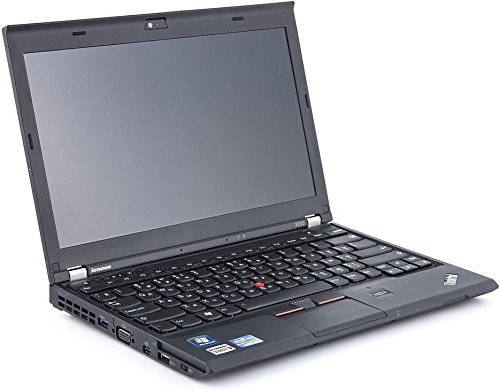 Lenovo ThinkPad X230 12,5 Zoll Intel Core i5 500GB Festplatte 8GB Speicher Win 10 Pro Webcam Bluetooth NZD2EGE Notebook Laptop Ultrabook (Generalüberholt)