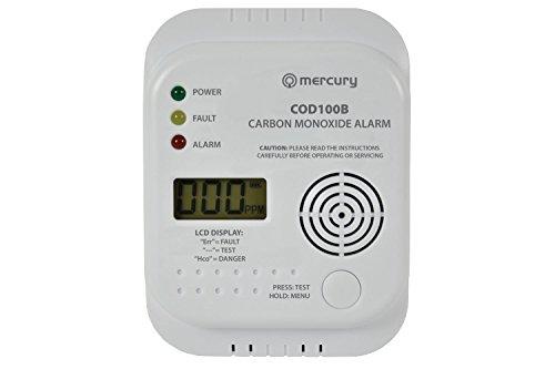 Mercury COD100B-Rilevatore di monossido di carbonio con allarme