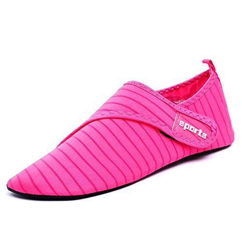 Calzado de deporte acuático para hombre y mujer, de secado rápido, para yoga, sin cordones, para playa, piscina, surf, yoga, etc