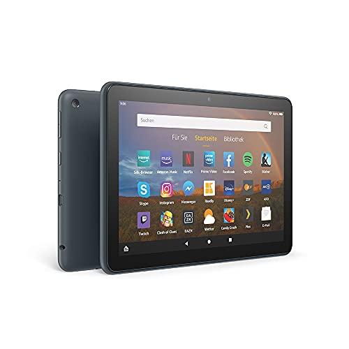 Fire HD 8 Plus-Tablet, 8-Zoll-HD-Bildschirm, 32 GB, Schiefergrau, Mit Werbung | Unser bestes 8-Zoll-Tablet für Unterhaltung unterwegs
