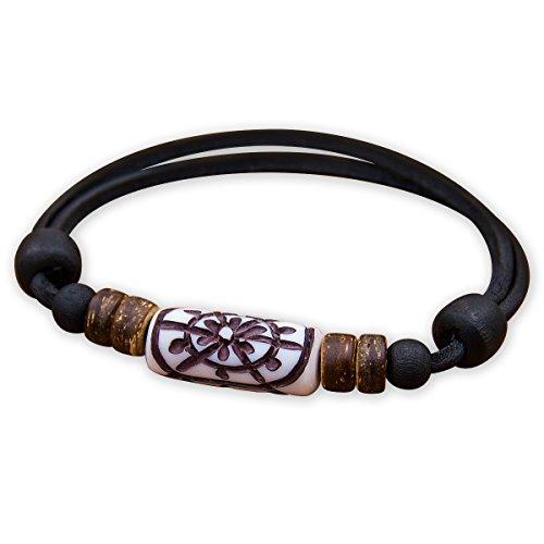 HANA LIMA ® Armband Herren Damen Surferarmband Lederarmband Herrenarmband Damenarmband