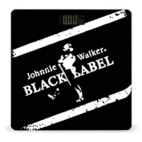 Weight Scale Body Fit Scale Digital BMI Weight Scale Johnnie Walker Black Label Smart Digital Weighing Scale Toughened Glass