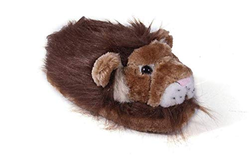 9090-3 - Brown Claw - Large - Happy Feet Animal Slippers