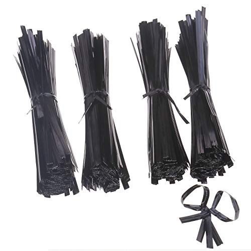 ENET Drahtbinder, Kunststoff, 150 mm, Schwarz, 1000 Stück