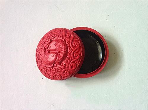 LWW Caja Joyero Chino,Laca Madera de Caja de joyería China Almacenamiento Caja joyero De Boda Estuche Muebles y Regalos orientales