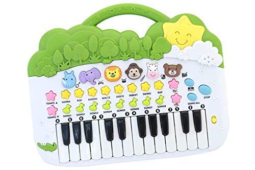 Tier Klavier mit Geräusche Lieder Rhythmen Soundeffekte