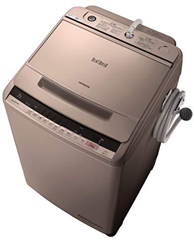 日立 全自動洗濯機 ビートウォッシュ 洗濯容量10kg 本体幅57cm 大流量ナイアガラビート洗浄 洗濯槽自動おそうじ BW-V100C N