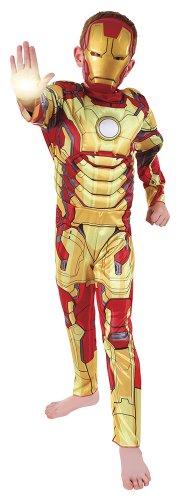 Rubies`s - Disfraz infantil de Iron Man 3 Deluxe (888896-M)