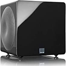 SVS 3000 Micro Subwoofer (Piano Gloss Black) | Active Dual 8-in Drivers, 800 Watt RMS, Sealed Cabinet
