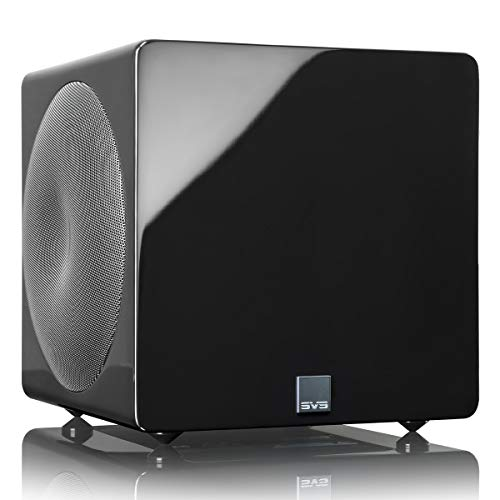 SVS 3000 Micro Subwoofer (Piano Gloss Black) | Active Dual 8-in Drivers,...