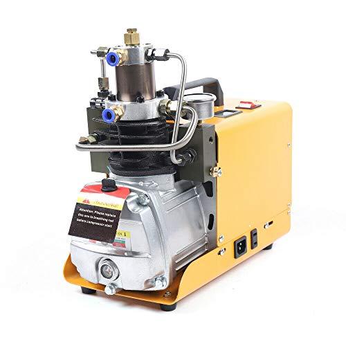 Wangkangyi Bomba de aire de alta presión eléctrica de 1,8 kW, 2800 rpm, 30 MPa, compresor de aire de alta presión, autoapagado, compresor de aire eléctrico PCP, compresor de aire de alta presión
