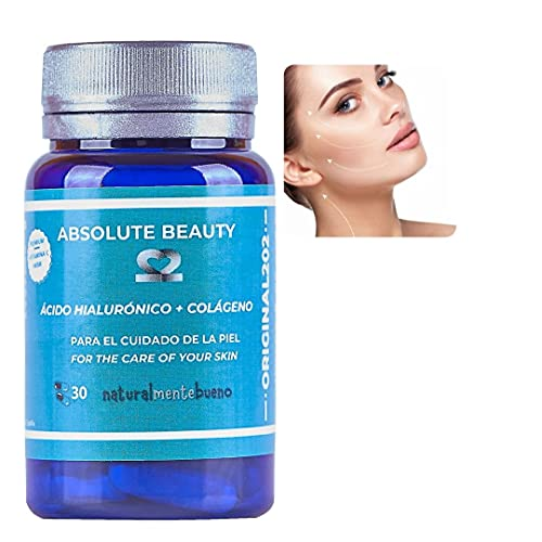 Colágeno + Ácido Hialurónico - Para cuidado de la piel - Antiarrugas- Antiedad -Disminuye las arrugas y surcos de expresión + Vitamina C y MSM