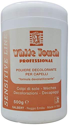Polvos decolorantes profesionales azules para cabello, 500 g, fórmula no volátil para...