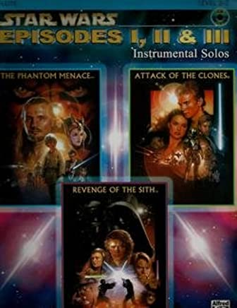 Amazoncom Star Wars Episodes 12 3 For Flute Level 2 3 No Cd