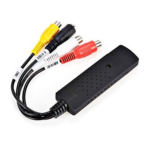 Capturadora USB 2.0 de Video y Audio con Cable de Transferencia,...