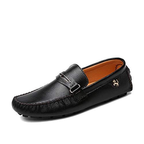 GPF-fei Herenschoen Leer Loafers Schoenen Bootschoen Luie schoenen Ronde teen schoen Erwtenschoenen Comfortabele Mode Vrije tijd Ademend