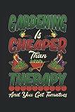 Notebook: giardinaggio, giardiniere, giardiniere hobby, giardinaggio,: 120 pagine a righe: taccuino, album da disegno, diario, elenco delle cose da ... pianificare, organizzare e prendere appunti.