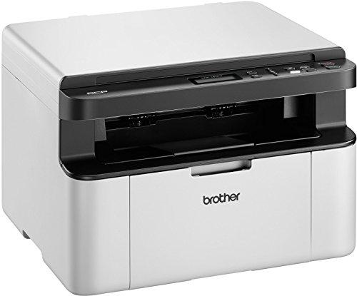 Brother DCP-1610W - Impresora multifunción láser (B/N 20 PPM, A4, USB), Blanco y Negro
