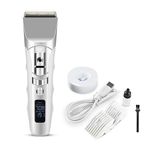 USB oplaadbare tondeuse voor mannen professionele elektrische tondeuse Cordless Clippers Adult Razors Hair snijmachine