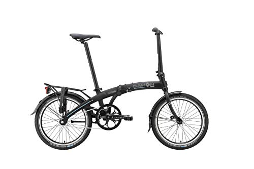 Dahon Single Speed Mu Uno vouwfiets, zwart, 20 inch