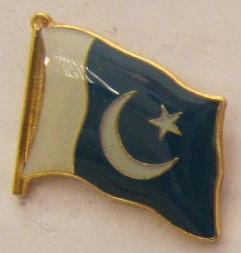 Pakistan Pin Anstecker Flagge Fahne Nationalflagge Flaggenpin Badge Button Flaggen Clip Anstecknadel