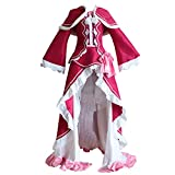 Anime Re Zero Starting Life in Another World Cosplay Costumes Beatrice Dresses Uniforms Halloween Party (S) Pink