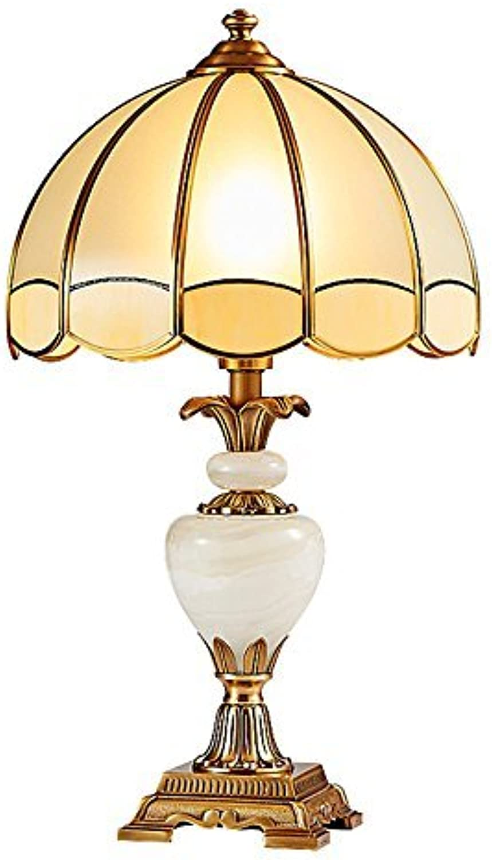 Gorkuor Tischlampe Kupfer Tischlampe, Tischlampe, Tischlampe, europäischen Stil Tischlampe Nachttischlampe Villa Lampe Ehe Zimmer Elegante Moderne Luxus Tischlampe E27 Originalität (Größe  36  62cm) B07JY5YS6S | Merkwürdige Form  3225ff