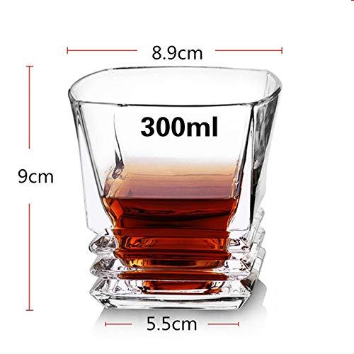 ZFLL Wijnglas merk zonder lood, hittebestendig, kristalglas, transparant, whisky Brandy Vodka mok Multi Motief glazen geschenken