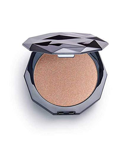 Makeup Revolution - Illuminatore in vetro ultra lucido, colore: Nero ghiaccio