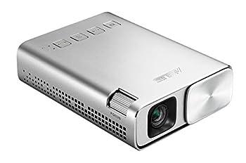 ASUS ZenBeam E1 Pocket LED Projector 150 Lumens 6000mAh Battery 5-hour Projection Power Bank Auto Keystone Correction HDMI/MHL  Renewed