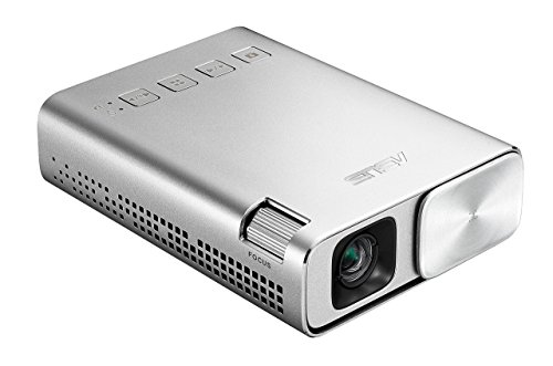 ASUS ZenBeam E1 Pocket LED Projector, 150 Lumens, 6000mAh Battery, 5-hour Projection, Power Bank, Auto Keystone Correction, HDMI/MHL (Renewed)