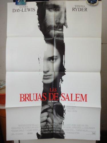 Original International Spanish Movie Poster The Crucible Las Brujas De Salem Winona Ryder