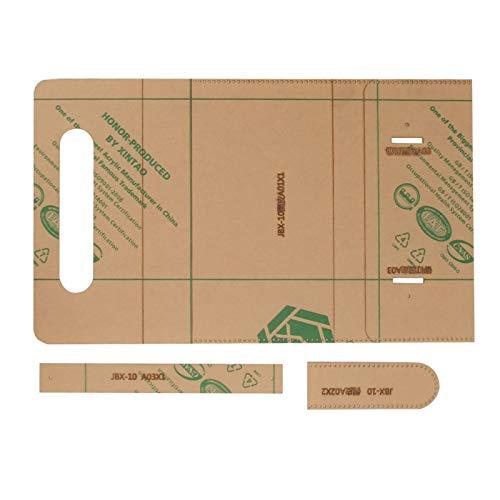 Klare Acrylherstellung Schablone, Leder Bastelwerkzeug Brieftasche Werkzeuge für DIY Handarbeit