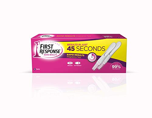 First Response Rapid Results Pregnancy Test, Pack of 2