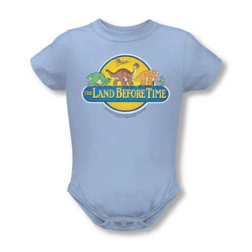 Land Before Time - - Bébés Dino Breakout Onesie en bleu clair, 12 Months, Light Blue