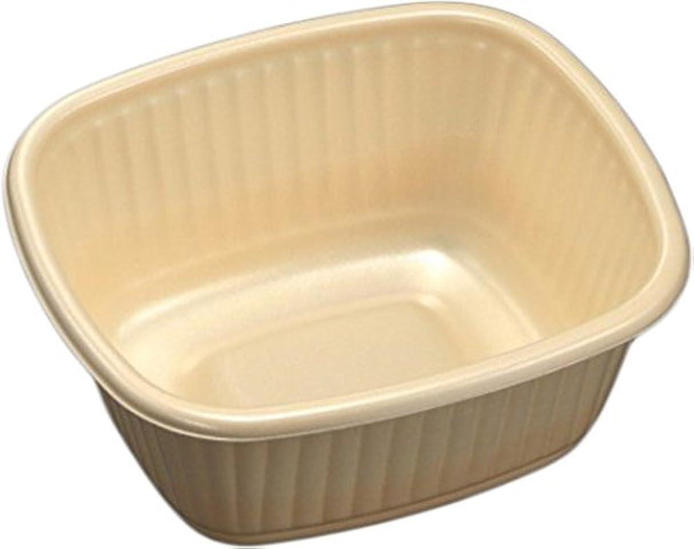 普及底気晴らし中央化学 使い捨て食品容器 CF角丼 IV 身 50枚入サイズ:約14.7×13.1×6cm