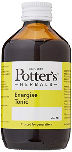 Potter'S Herbals Energise Tonic – 250ml – to Support Vitality and Physical Well-Being, to Help Maintain The Natural Defences of The Immune System – Panax Ginseng G115 Extract 408-0834