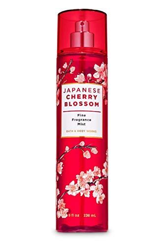 Bath and Body Works JAPANESE CHERRY BLOSSOM Fine Fragrance Mist 8 Fluid Ounce (2020 Edition)