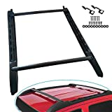 labwork Roof Rack Cross Bars Set Fit for 2005-2018 Toyota Tacoma Double Cab Style Aluminum