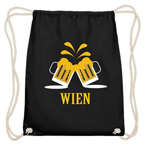 Jarra de cerveza de Viena Austria, Oktoberfest, 2018, Múnich, Baviera – Bolsa de algodón, color Negro, talla 37cm-46cm
