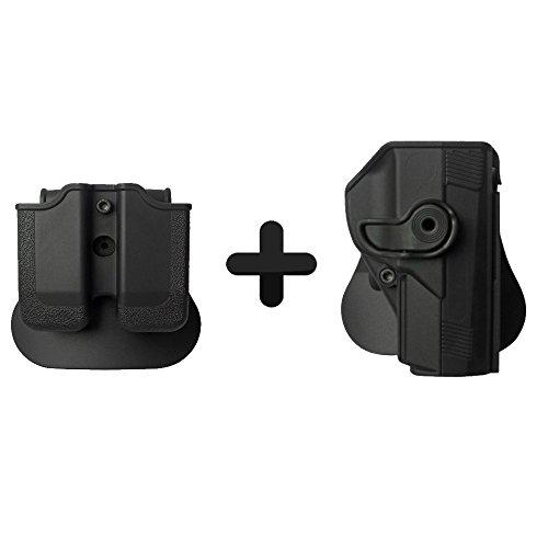 IMI Defense Funda táctica Roto + doble revista Beretta PX4 STORM .45 COMPACT $ Pistola de tamaño completo
