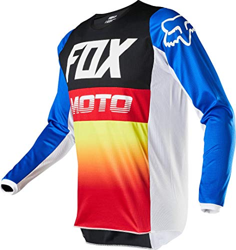 2020 Fox Racing Youth 180 Fyce Jersey-Blue/Red-YL