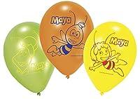 """amscan-450290-6Luftballons Latex Biene Maja 23cm/9"""""""