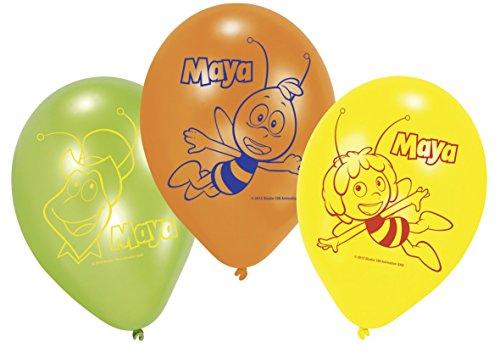 amscan–450290–6Luftballons Latex Biene Maja 23cm/9