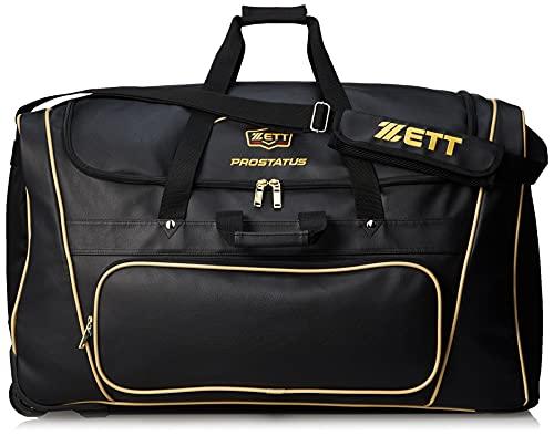 ZETT(ゼット) 野球用 ヘルメット兼キャッチャー 防具ケース プロステイタス BAP117 ブラック(1900)