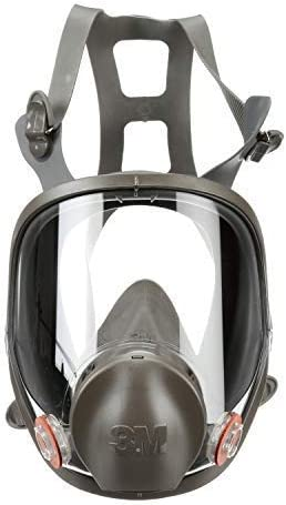 3M Safety 142 6900 Safety Reusable Full Face Mask Respirator Dark Grey Large product image