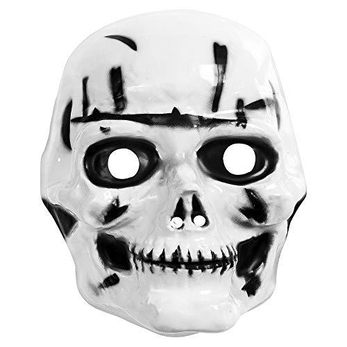 Widmann 2663T Kindermaske Totenkopf, One Size