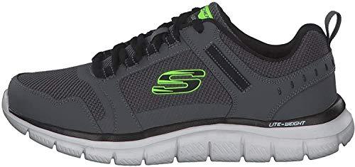 Skechers 232001/CCBK - Zapatos con Cordones para Hombre